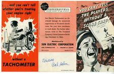 1947 Brochure for Sun Electric Corp Truckstell Car and Truck Tachometers