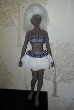 CLOTHES for BJD 1/4 doll (iplehouse) navy/white