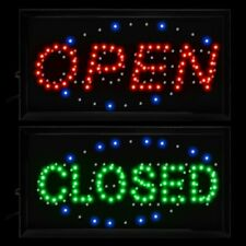 10 * 19 Animated Motion Led Business 2-in-1 Open Closed Sign OnOff Switch Light