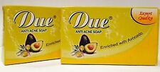 Due Whitening + Anti Acne Soap Enriched with Avocado 80g x 2 Bars