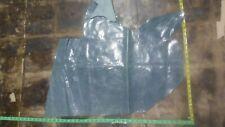 italian leather hide skin blue grey distressed cow 0.9mm 2oz #2714