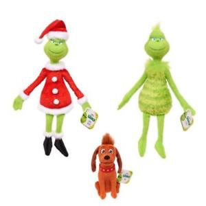 New Hot Rare Christmas Grinch Plush Doll Soft Toy Stuffed Teddy Kid Xmas Gift