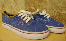 LEVI'S 2 Tennis Shoes. Girl's US Size 2 Denim with with polka dots. NWT