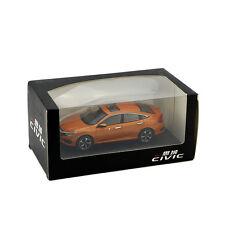 ORIGINAL MODEL,1:43 Honda CIVIC 2016,MK10,ORANGE