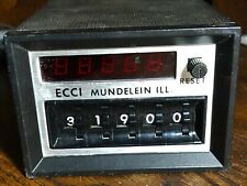 ECCI Digital Counter Model MU 115A-1