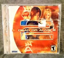 Dead or Alive 2 Sega Dreamcast Fighting Game FACTORY SEALED Never opened DOA2 US