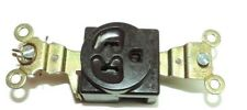 Lot of 3 GE 5261-1 BROWN RECEPTACLE NEMA 5-15R 15A 125V 2 POL 3 WIRE (NOS)