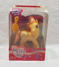 Hasbro My Little Pony Figurine Shimmer Pony Shell-Belle 2004 Butterfly Island