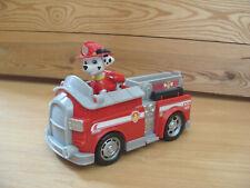 Paw Patrol - Marshall Figure & Basic Fire Engine Rescue Vehicle