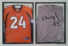 JERSEY Display Case Frame Football Basketball Baseball Lot of 2 Shadow Box A
