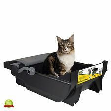 Tidy Cat Litter Box Automatic Self Cleaning For Cats Kitty No Touch Feline Waste