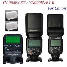 YONGNUO TTL YN968EX-RT YN600EX-RTII Master & slave Flash speedlite for canon