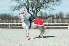 Horze Spirit Christmas Santa Reindeer Fancy Dress Horse & Rider Outfit