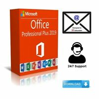 Microsoft Office 2019 Professional Plus Vollvers.✔️Key 32/64 Bit Blitzversand✔️