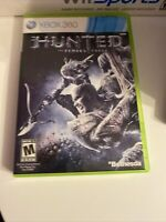 Hunted: The Demon's Forge (Microsoft Xbox 360, 2011)  Missing Booklet