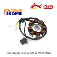 TZ-25 50cc 80cc Stator 8 Pole Magneto Coil GY6 Parts Chinese Scooter 139QMB