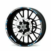 Motorcycle Styling Wheel Hub Rim Stripe Stickers For Yamaha MT-09 TRACER-S8