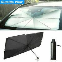 Foldable Car Windshield Sunshade Window Cover Visor Sun Umbrella Shade 79*145cm