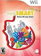 Think Smart Family! For Wii And Wii U Very Good 6E