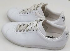 ADIDAS Vintage All White Trefoil / 3 Stripes Mens Casual Sneakers Shoes Size 6.5