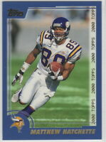 2000 Topps Football Minnesota Vikings Team Set
