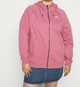 82187507/K115 Nike Sportswear HOODY PLUS - Sweatjacke Gr.1X beere NEU