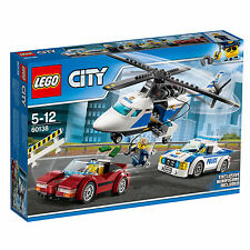60138 HIGH SPEED CHASE lego SET legos city town SEALED complete NEW police