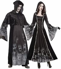 Couples Ladies AND Mens Soul Reaper Eater Halloween Fancy Dress Costumes Outfits