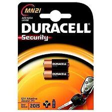 Set of 2 Duracell Alkaline MN21 12-Volt Batteries
