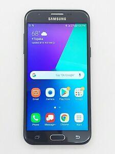 Samsung Galaxy J3 SM-J327 Verizon - 16GB - Black *Check IMEI*