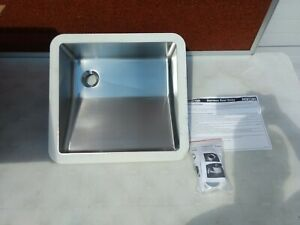 Karran Edge E-505 Stainless Steel Undermount Special Vanity Sink