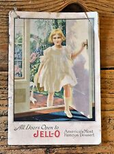 1917 Jell-O Recipe Booklet Featuring Famous Women Including Kewpie Rose O'Neill