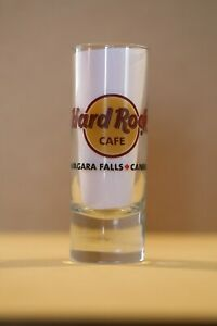 "Hard Rock Cafe 4"" Cordial Shot Glass NIAGARA FALLS, CANADA HRC"