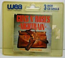Guns N' Roses 3 Track 3 Inch CD Single Nightrain 1989 Geffen Germany  Free Ship