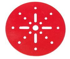 "Meccano Part 146a Circular Plate 4"" Diameter Red"