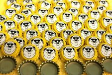 100 Fat Head's Heads Brewery Yellow Beer Bottle Caps New Uncrimped Free Fast Shp