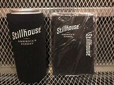 Lot of 2 Stillhouse America'S Finest Whiskey ~ G-Easy ~ 16oz Koozies New Black