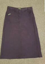 Nice women's Calvin Klein Khakis denim skirt. Size W26/27. VGC.