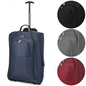 Valigia Trolley bagaglio a mano Morbido 54 x 35 x 19 cm in tessuto 42 L Rigido