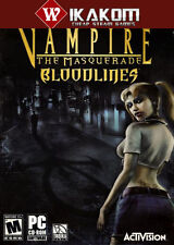 Vampire: The Masquerade - Bloodlines Steam Digital Game **Fast Delivery!**
