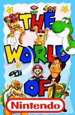 World of Nintendo POSTER Super Mario Donkey Kong Metroid Bowser Yoshi Link Zelda