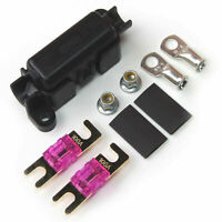2 x 100 Amp For Midi Fuses Terminals And Heat Shrink Midi Car Inline Fuse Holder