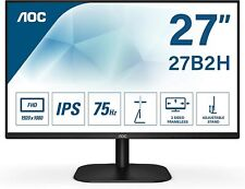 "AOC MONITOR 27"" LED FHD BASIC-LINE 27BH2 HDMI FULL HD NERO 1920x1080 IPS 75hz PC"
