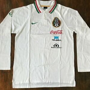 Mexico Nike 2006 polo shirt training. Used by soccer team. Rare!