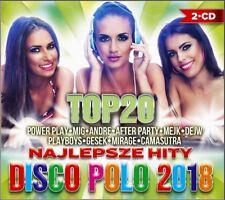 Top 20 najlepsze hity disco polo 2018( 2CD) POLISH Shipping Worldwide