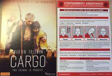 Promotional Movie Flyer Cargo Martin Freeman *NOT A DVD*