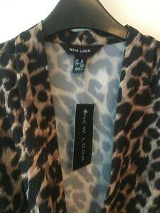 New Look Leopard Print Bodysuit