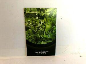 Original Xbox Microsoft Future of Gaming Mini Catalog INSERT ONLY authentic