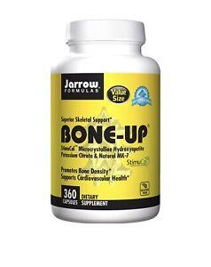 Jarrow Bone-Up Cardiovascular Health & Bone Density - 360 Caps Exp 2/2022