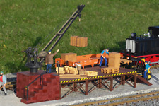 Piko G-Scale 62077 Loading Crane Building Kit MIB / New
